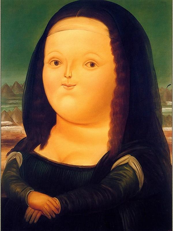 Fernando-Botero-Mona-Lisa-1977